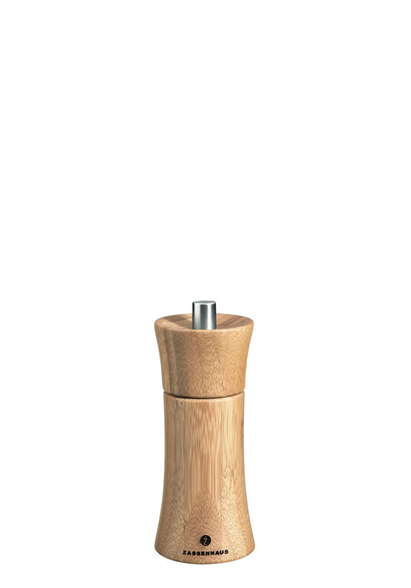 Zassenhaus Frankfurt - Salt Mill Grinder - Bamboo - Various Sizes