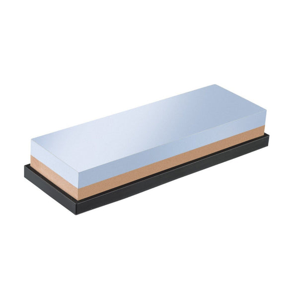 Westmark - Knife Sharpening Stone - 2 Surfaces Non-Slip Base - Corundum - 18cm