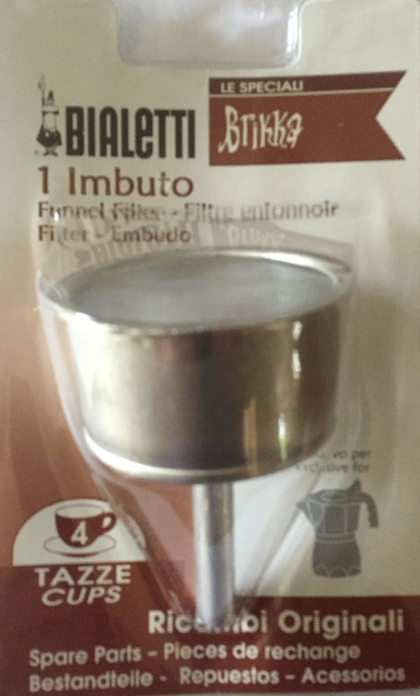 Bialetti Brikka - Spare Funnel for Brikka Coffee Maker - 4 Cup - Blister Pack