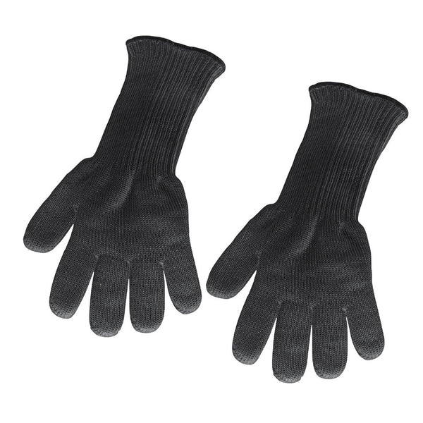 Küchenprofi Oven Barbecue BBQ Long Gloves - Black - Length 39cm (Set of 2)