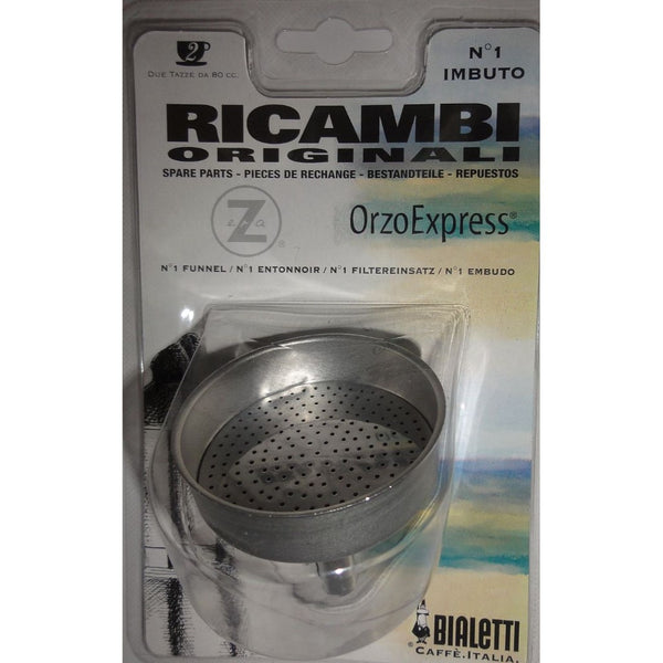 Bialetti - Spare funnel for Orzo Express Coffee Makers -Stainless Steel