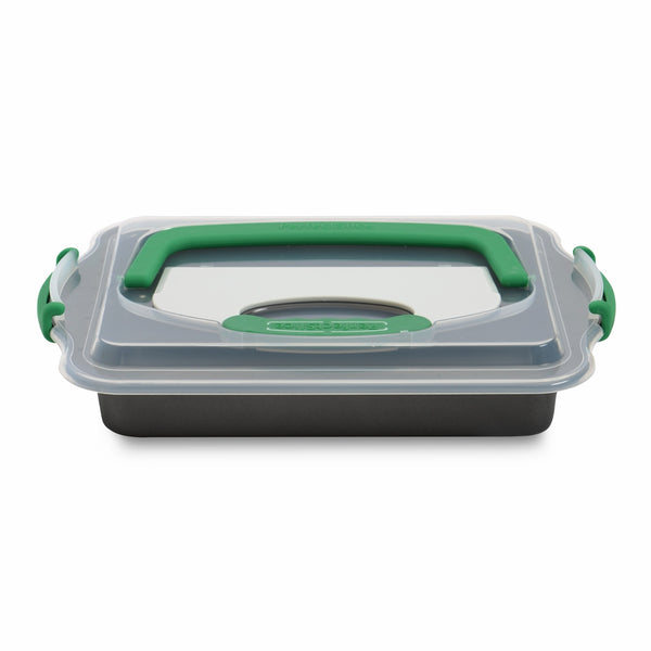 BergHoff Studio - Cake Pan & Slicing Tool - Rectangular Non-Stick - 36.5x27x5cm