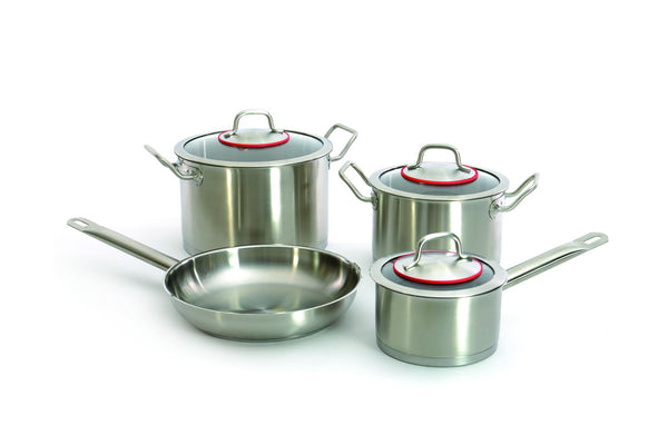 Berghoff Hotel Line - Stainless Steel Induction Cookware Set - 7 pieces