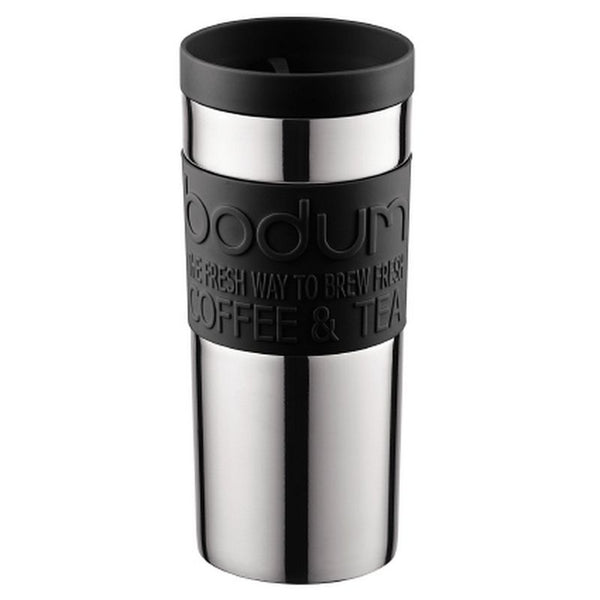 Bodum - Travel Mug - Spill Proof - Stainless Steel & Plastic - Various Colours