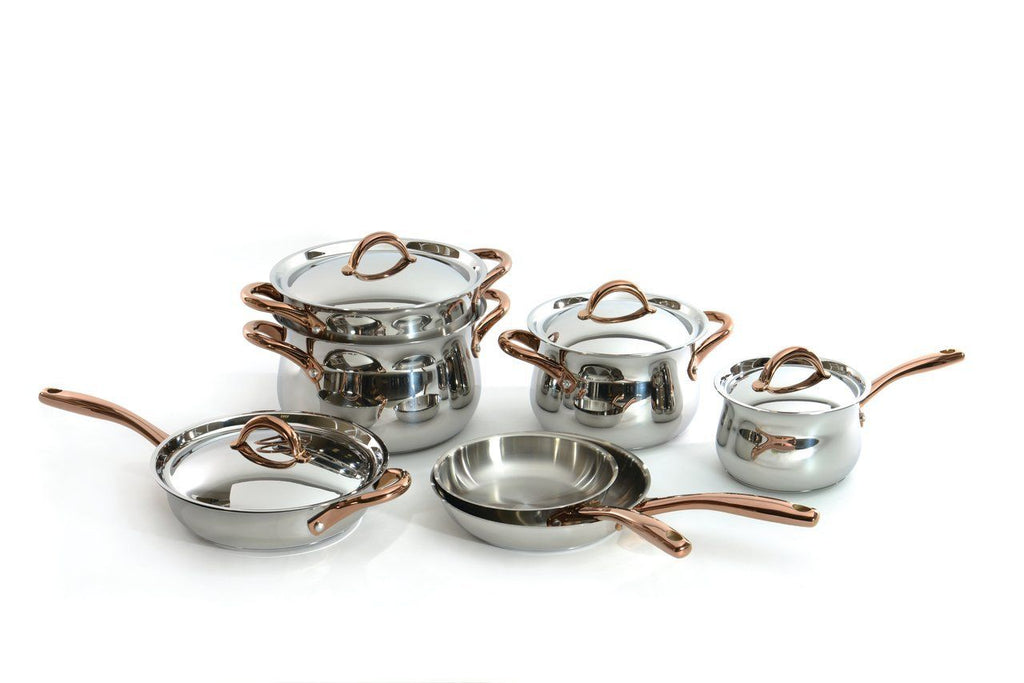 BergHoff Studio - Stainless Steel Cookware Set - 11 pieces