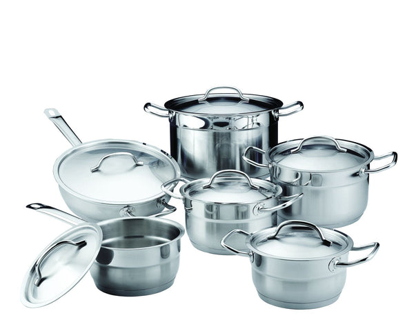 Berghoff Hotel Line - Stainless Steel Induction Cookware Set - 12 pieces