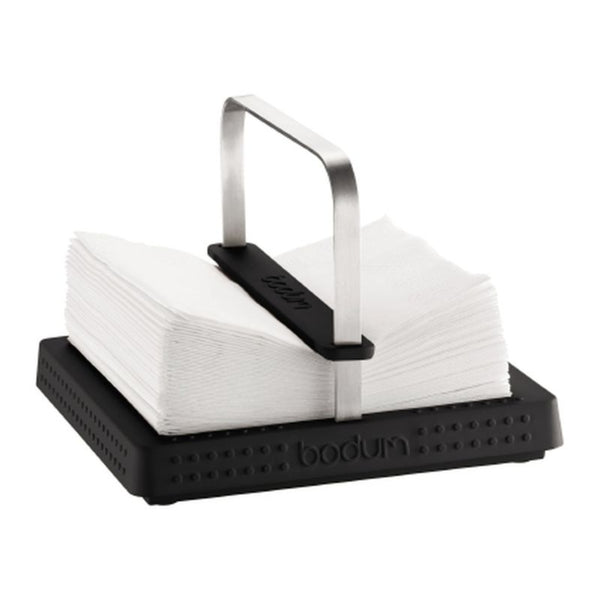 Bodum Bistro - Napkin Holder - Rubber and Stainless Steel - Various Colours