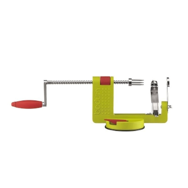 Bodum - Rotary Apple Peeler Corer and Slicer - Metal & Plastic - Various Colours