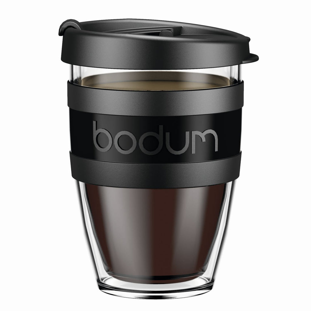 Bodum - Joycup Travel Mug - Black - 0.3 l/10 oz