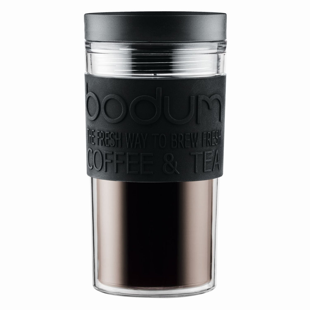 Bodum - Travel Mug - Black - Black - 0.35 l/12 oz