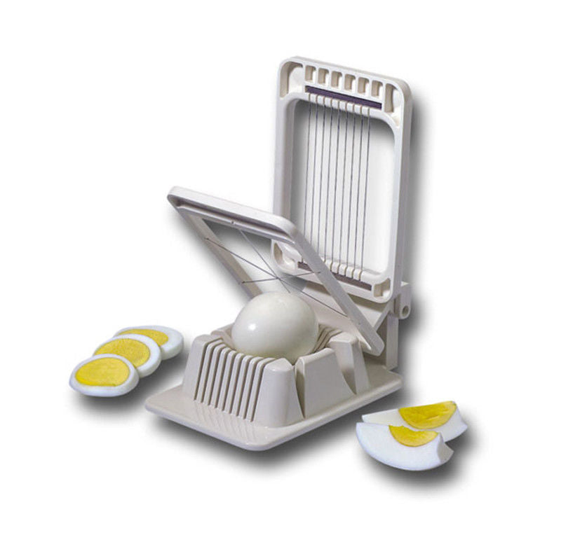 Westmark - 2-in-1 Egg Slicer/Wedger - Plastic with Stainless Steel Cutting Wires