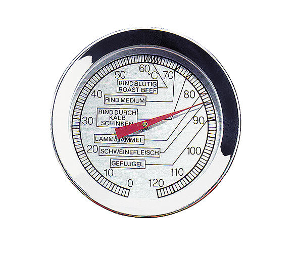 Küchenprofi Kitchen Roast Thermometer - Stainless Steel - Easy to Use - 0-120°C