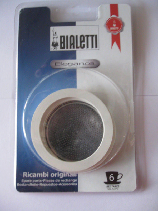 Bialetti Spare Parts For Stainless Steel Espresso Coffee Makers - Various Sizes