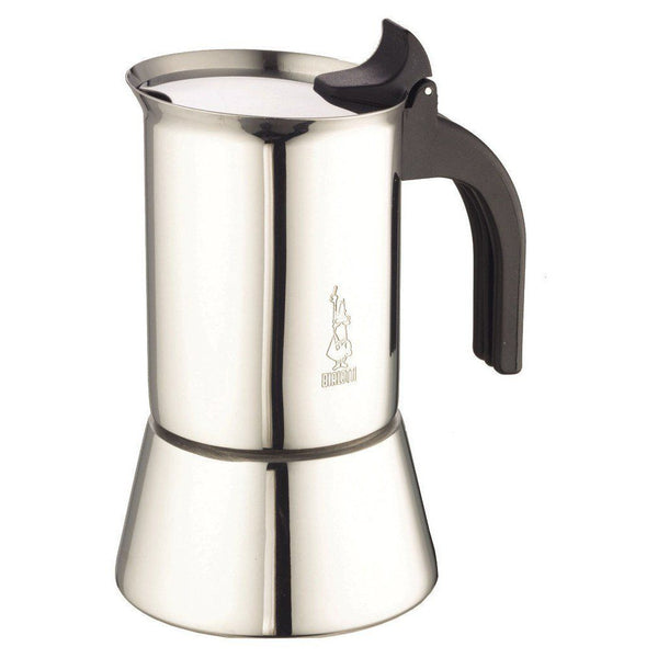 Bialetti Venus - Induction Espresso Maker - Stainless Steel & Cool Grip - 10 Cup