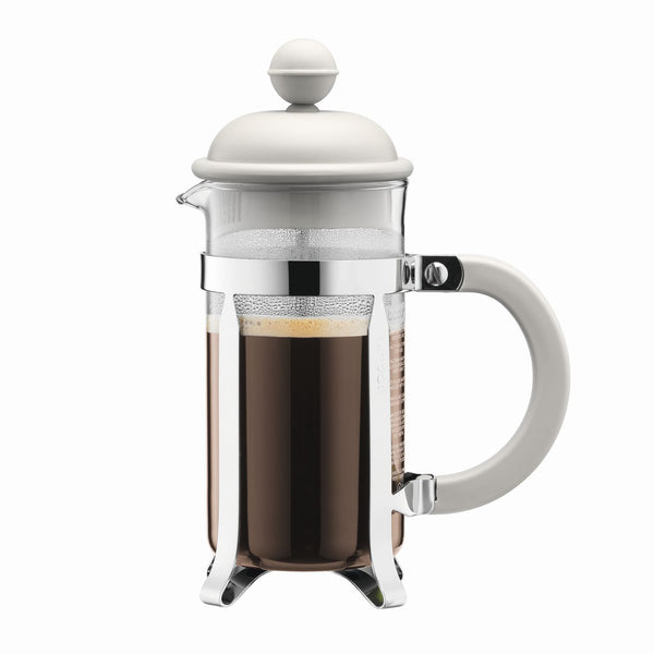 Bodum - French press coffee maker with Plastic Lid - Off white - Various Sizes
