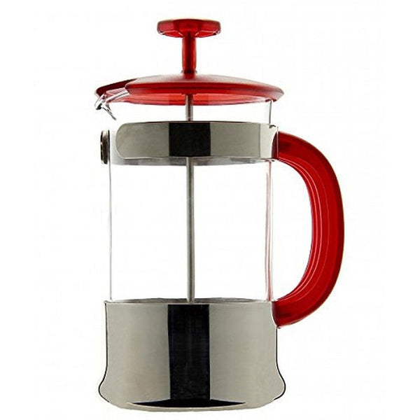 Bialetti Colorama Filter Press Cafetiere Plunger Coffee Maker Red 8 Cup - Slightly Scratched or Minor Imperfections
