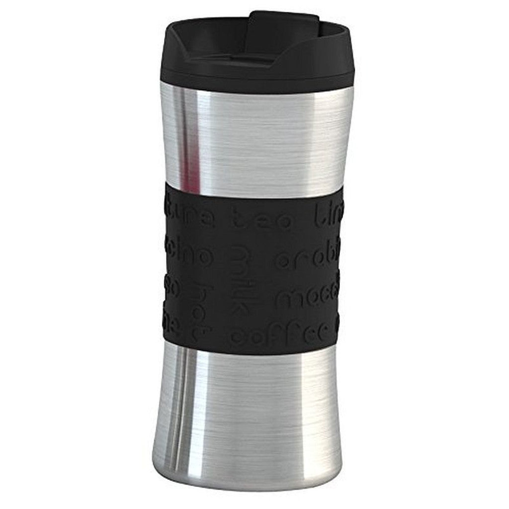 Hovac Savana - Insulated Mug - Stainless Steel & Silicone Grip - Various Colours