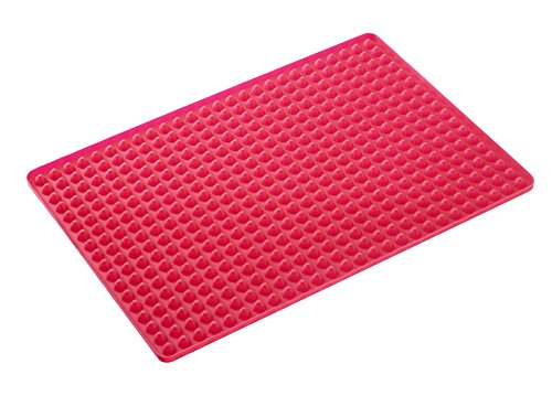 Westmark - Cooking Mat - With Oil Drainage for Healthier Cooking - Silicone