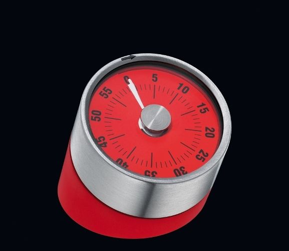 Cilio Premium Pisa - Kitchen Timer - Times up to 60 Minutes - Various Colours