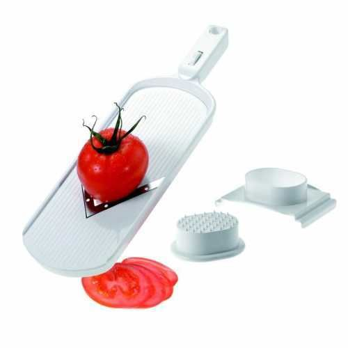 Westmark V Plane - Vegetable Slicer - 2 Adjustable V-Tapered Blades 0.1-0.3cm