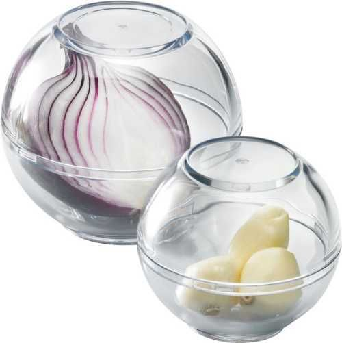 Westmark - Storage Balls - Ideal for Garlic or Onions - ABS Plastic - Set of 2