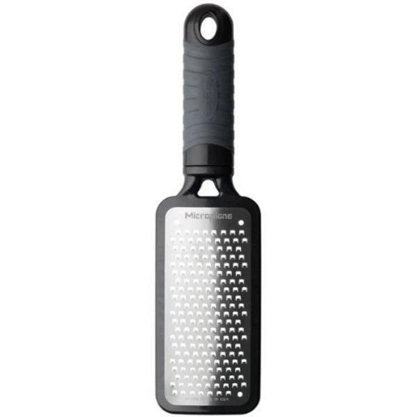 Microplane Home Series - Coarse Grater - Surgical Stainless Steel Blade - Black
