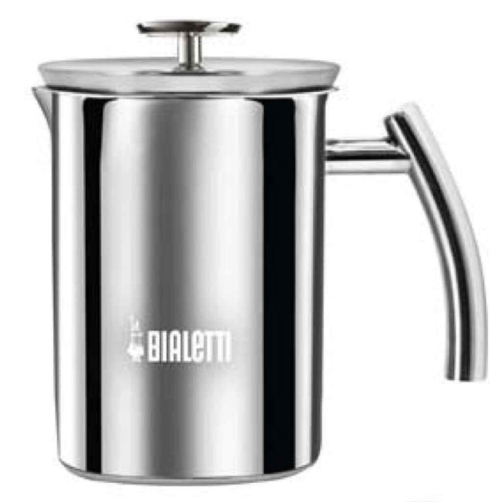 Bialetti Cappuccinatore - Manual Milk Frother - 6 Cup - Stainless Steel