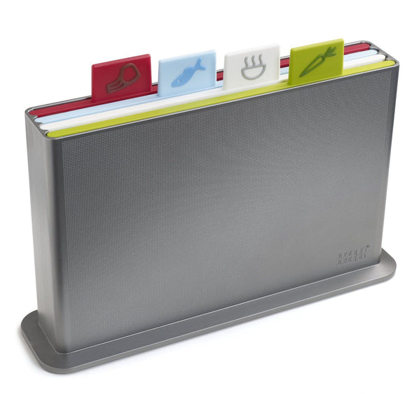 Joseph Joseph - Index - Chopping Board Set Advance - Silver