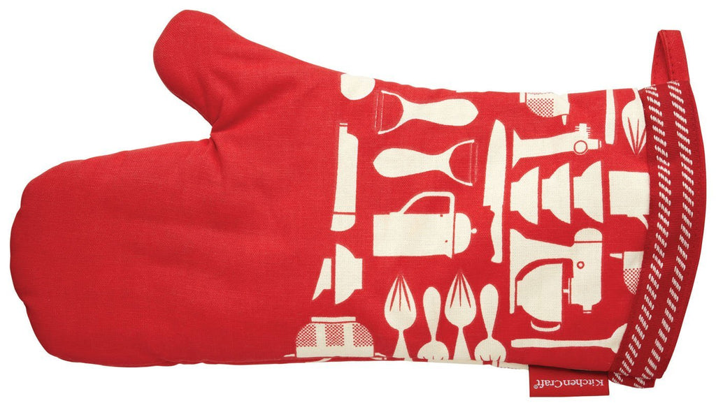 Kitchen Craft Metro - Oven Glove - Cotton - One Size Fits All - Various Colours