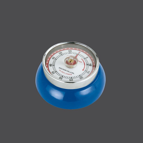 Zassenhaus Retro 'Speed' - Kitchen Timer with Magnet - 55 Mins - Various Colours