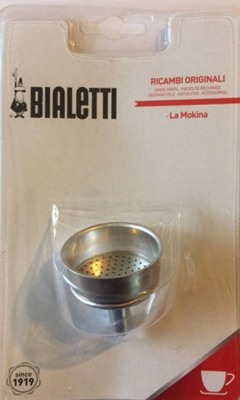 Bialetti - Spare Funnel for La Mokina Aluminiium Coffee Maker - Blister Pack
