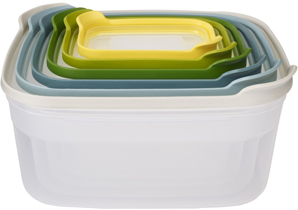 Joseph Joseph Nest Storage - Food Containers - Stackable - Multiple Colours