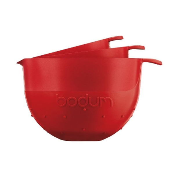 Bodum Bistro - Mixing Bowls - 3 Piece Dishwashable - Plastic - Various Colours