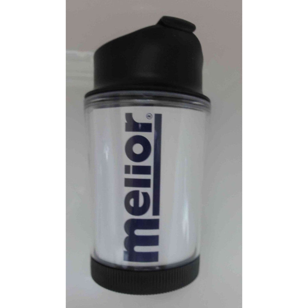 Melior Photo Memory - Coffee Press - With Insert for Personal Photo - 0.25l