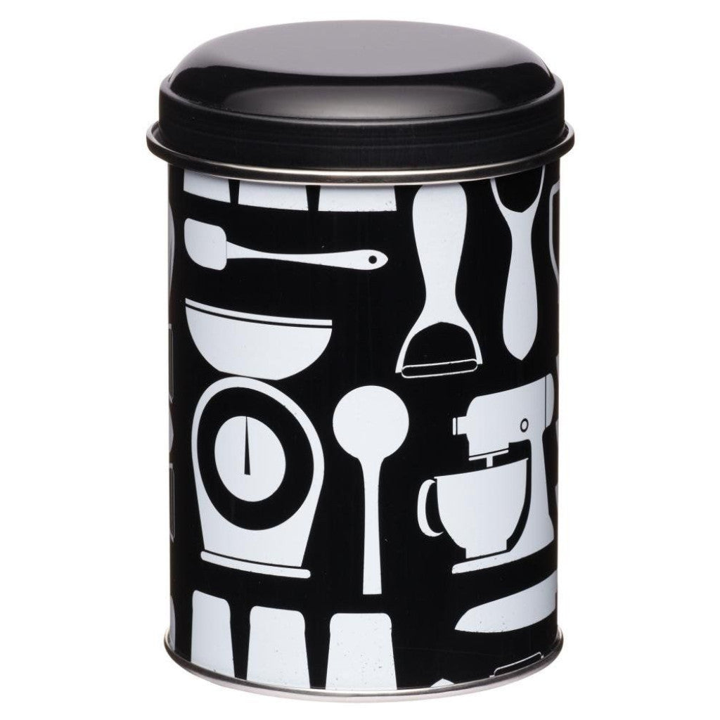 Kitchen Craft Metro - Kitchen Storage Canister - Enamel - Various Colours
