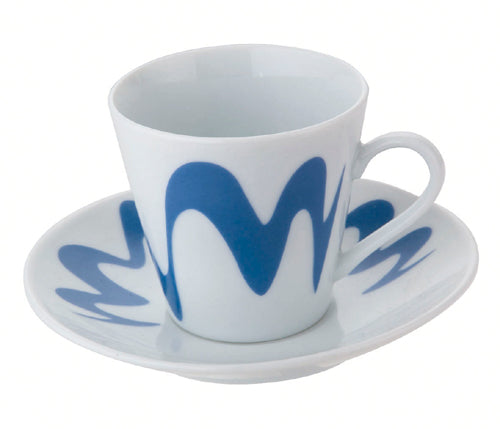 Top Moka - Droplet Cup - Espresso Cup - Fine Porcelain - Various Colours