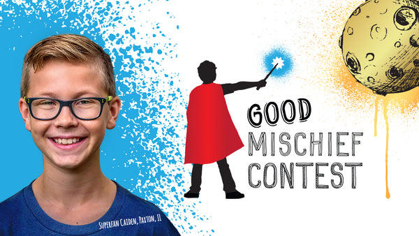 Eleven-Year-Old Superfan Announces Harry Moon's Good Mischief Contest