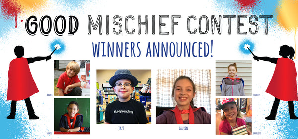 American Boy and Girl Win Harry Moons International Good Mischief Contest
