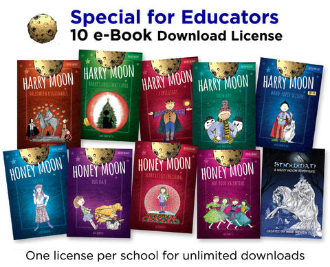 Educators 10 Harry Moon E-Books Download License