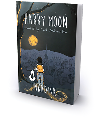 Harry Moon Inkadink Graphic Novel - Book Club