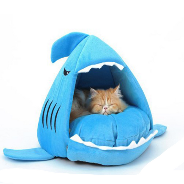 Beautiful Washable Shark Bed - PawMerch