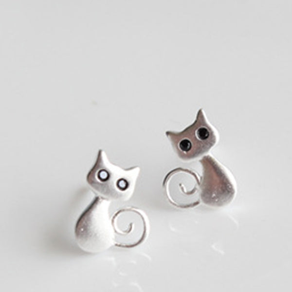 Beautiful 925 sterling silver earrings - PawMerch