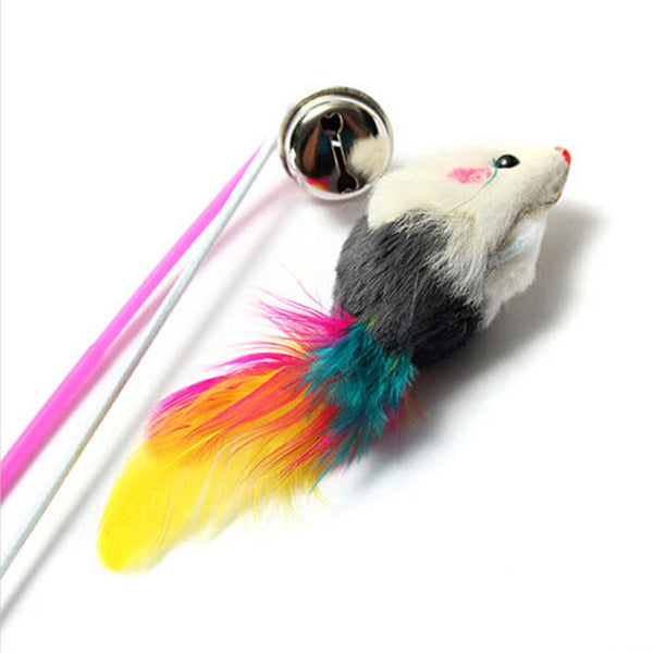 Wonderful Feather teaser Cat toy
