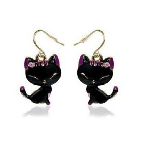 Beautiful Happy-Kitty Earrings - PawMerch