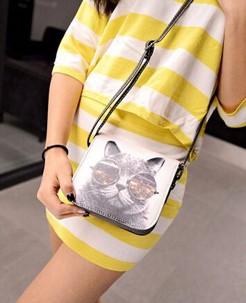 Elegant and Fun Cat Purse