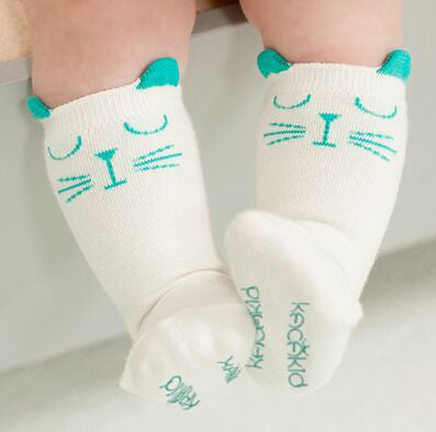 Adorable Kitty Socks for Babies & Toddlers - PawMerch