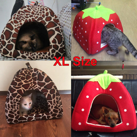 Cute Foldable House for Cats and Dogs