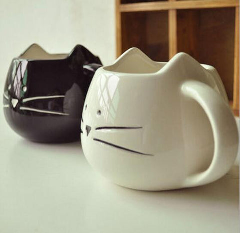 Lovely Cat Inspired Mug (2 colors available) - PawMerch