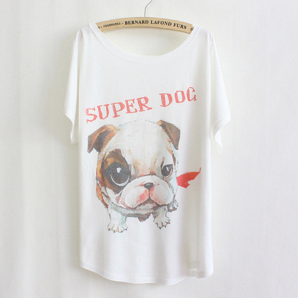 "Adorable ""Super Dog"" shirt - PawMerch"