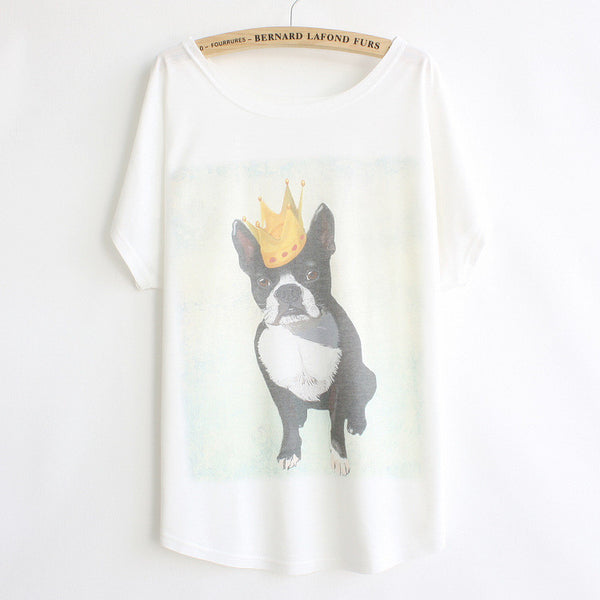 "Fun and fashionable ""Doggy King"" shirt - PawMerch"